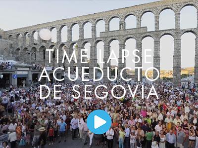 TIME LAPSE. ACUEDUCTO DE SEGOVIA